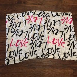 Kate spade New York LOVE infinity scarf